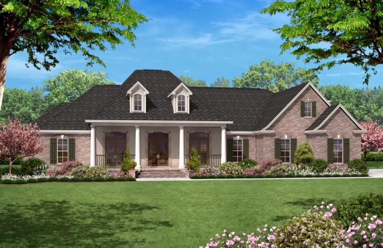 4 Bed, 3 Bath, 2500 Square Foot House Plan - #041-00021