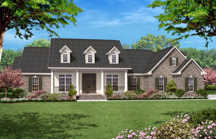 4 Bed, 3 Bath, 2500 Square Foot House Plan - #041-00022