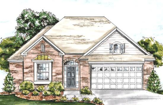 2 Bed, 2 Bath, 1274 Square Foot House Plan - #4848-00149