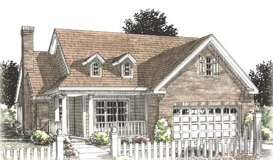 2 Bed, 2 Bath, 1425 Square Foot House Plan - #4848-00152