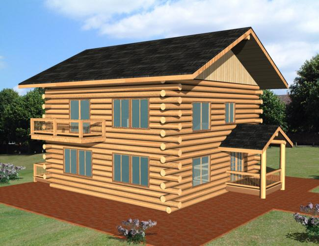 2 Bed, 2 Bath, 1565 Square Foot House Plan - #039-00073