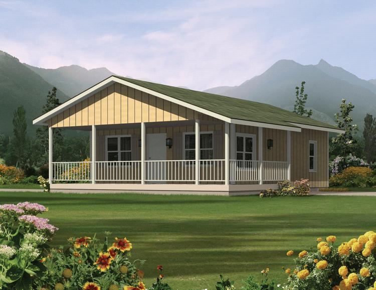Ranch Plan 720 Square Feet 2 Bedrooms 1 Bathroom 5633