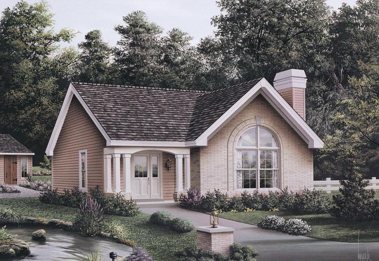 3 Bed, 2 Bath, 1161 Square Foot House Plan - #5633-00117