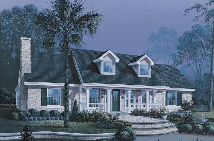 Cape Cod Home Designs at houseplans net