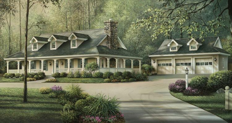 Country Plan 1 944 Square Feet 3 Bedrooms 2 Bathrooms