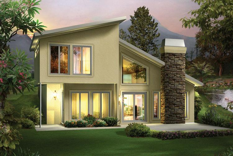 Narrow Lot Plan 1105 Square Feet 2 Bedrooms 15 Bathrooms