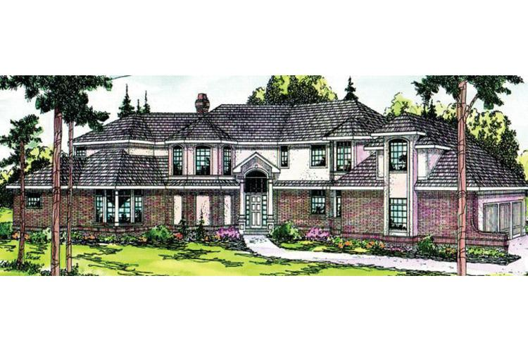 4 Bed, 3 Bath, 4147 Square Foot House Plan - #035-00013