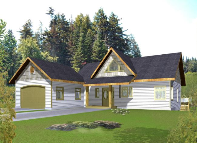 Lake front plan 3 304 square feet 2 bedrooms 3 for 2 bedroom lake house plans