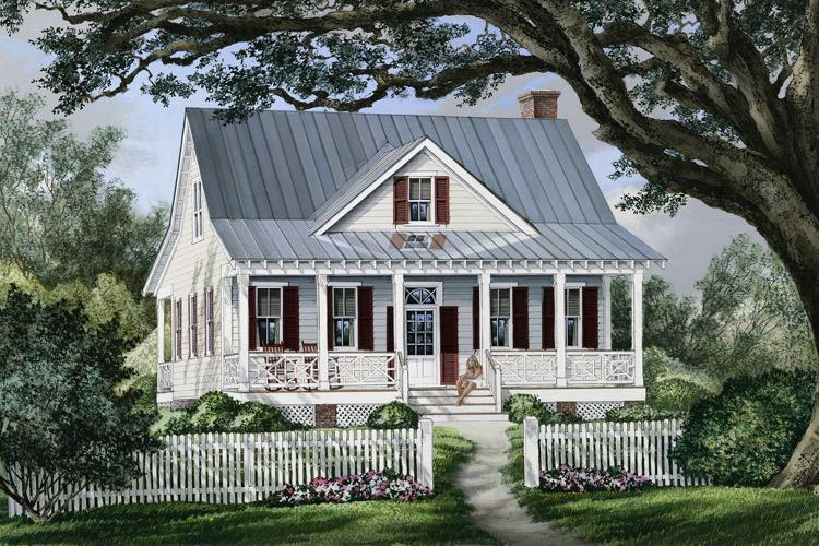 photo - Small Farm Cottage House Plans