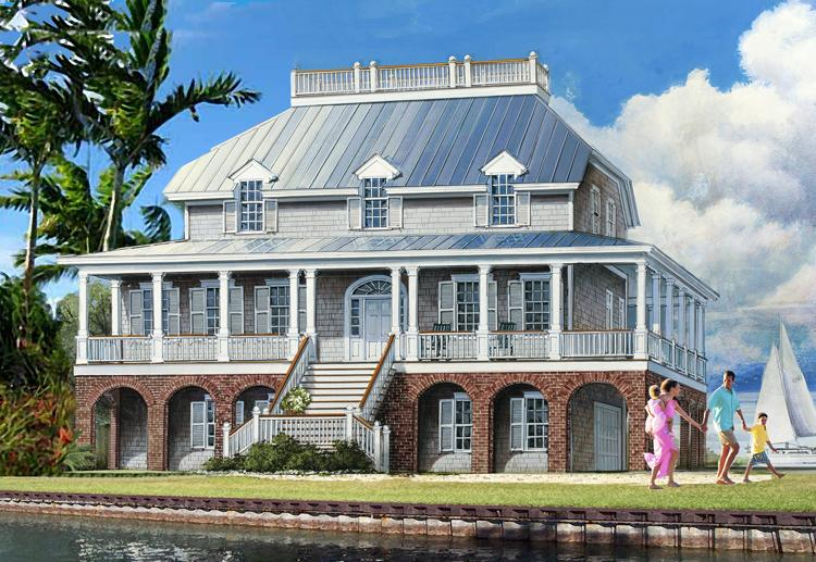 Coastal House Plans coastal house plans Coastal Plan 3246 Square Feet 4 Bedrooms 45 Bathrooms 7922 00105