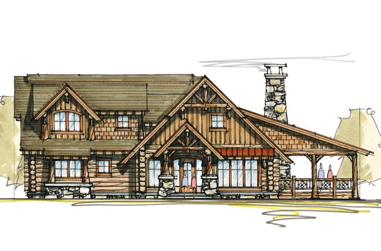 Tiny Home Designs: Vacation Plan: 2,278 Square Feet, 3 Bedrooms, 2.5