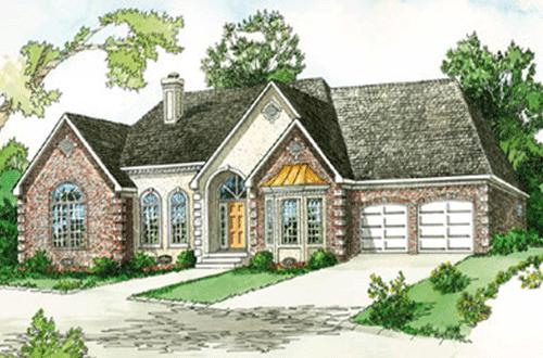 Modern farmhouse plan 2 241 square feet 3 bedrooms 2 5 for Modern farmhouse cost to build