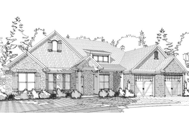 4 Bed, 2 Bath, 2326 Square Foot House Plan - #1070-00031