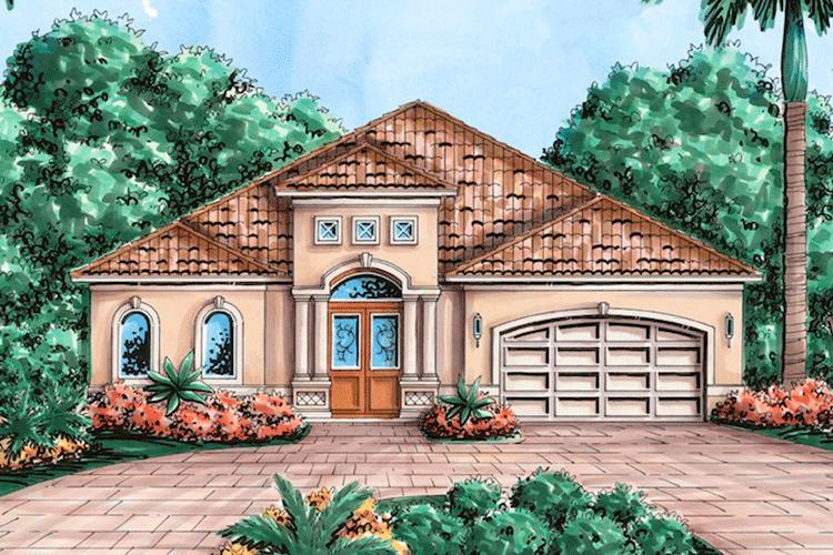3 Bed, 2 Bath, 2400 Square Foot House Plan - #1018-00021