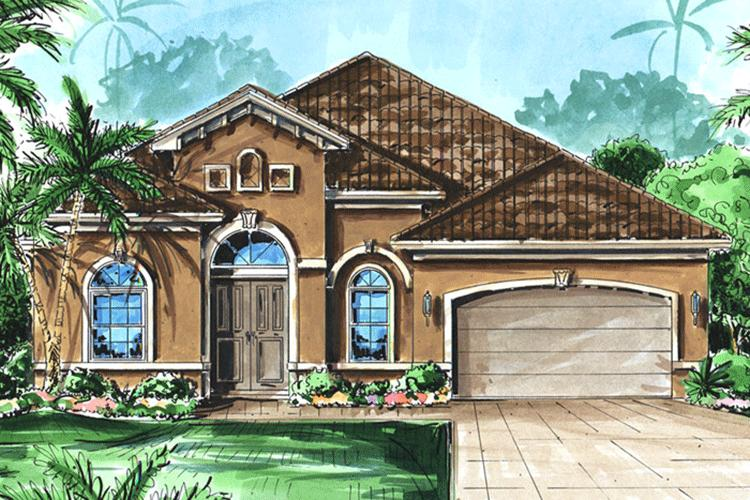 3 Bed, 3 Bath, 2514 Square Foot House Plan - #1018-00024