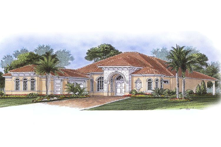 best residential house plans and designs. photo Florida Plan  2 951 Square Feet 3 Bedrooms Bathrooms 1018 00046