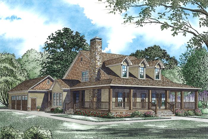Farmhouse plan 2 173 square feet 4 bedrooms 3 bathrooms for Classic cottage plans