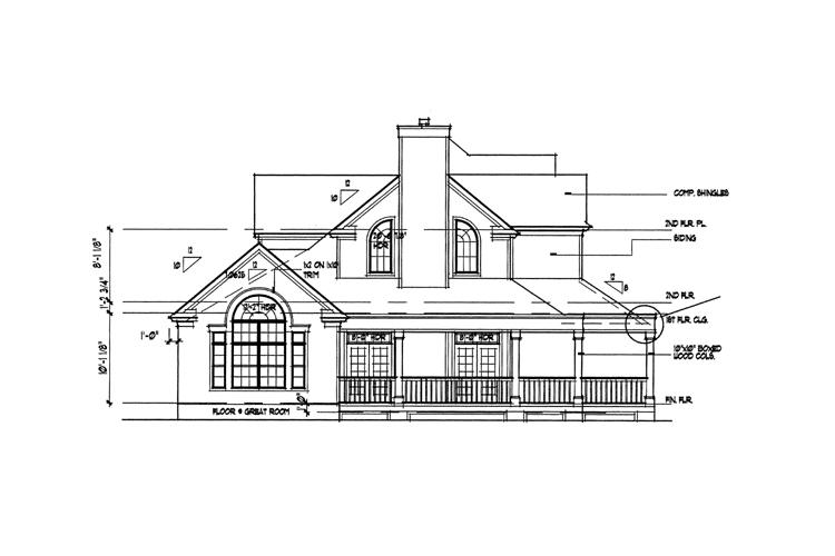 blueprints to build a house farmhouse plan 2 112 square 3 bedrooms 2 5 23209