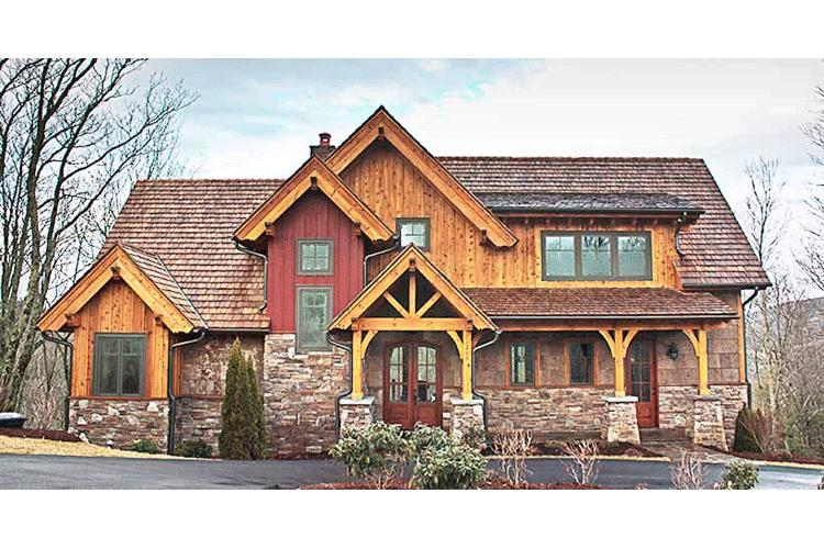 Mountain Rustic Plan 2 379 Square Feet 3 Bedrooms 2 5