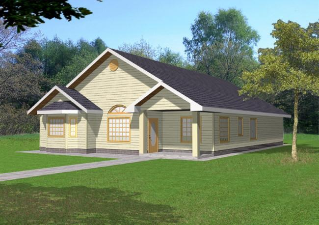 3 Bed, 2 Bath, 1585 Square Foot House Plan - #039-00349