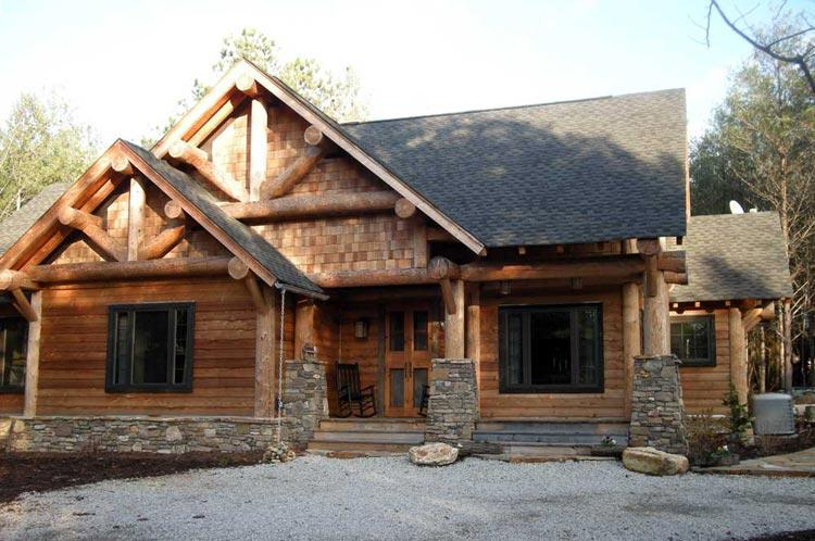 Cabin plan 1 416 square feet 3 bedrooms 2 bathrooms for 3 bedroom log cabin house plans