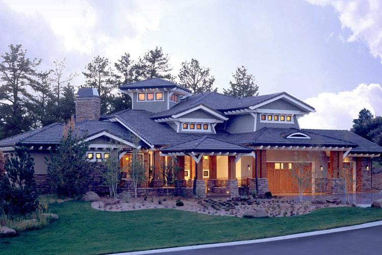 Mountain Plan: 5,876 Square Feet, 5 Bedrooms, 5 Bathrooms - 1907-00016