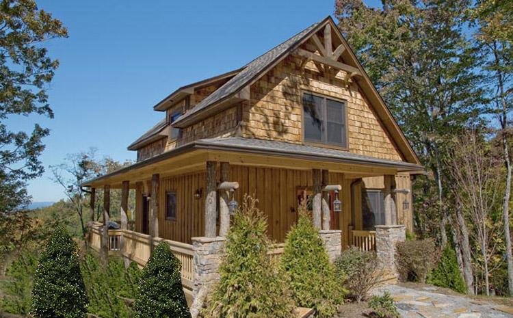Mountain rustic plan 2 000 square feet 4 bedrooms 3 for Cost to build 1500 sq ft cabin