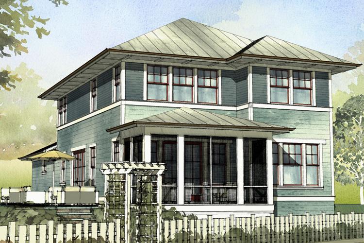 Coastal Plan: 2,401 Square Feet, 4 Bedrooms, 3.5 Bathrooms