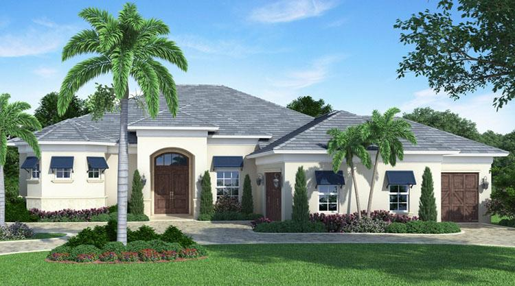 3 Bed, 4 Bath, 3025 Square Foot House Plan - #207-00001