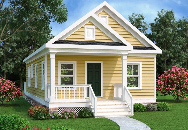 Traditional Plan 966 Square Feet 2 Bedrooms 1 Bathroom