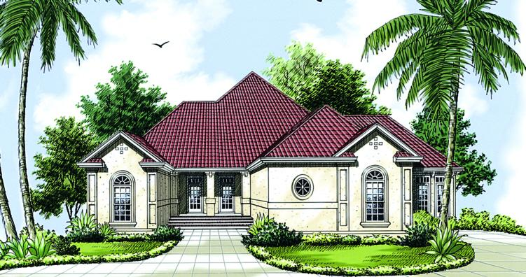 3 Bed, 2 Bath, 2349 Square Foot House Plan - #048-00151