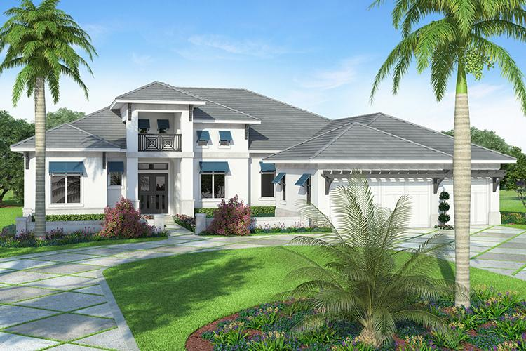 4 Bed, 4 Bath, 4162 Square Foot House Plan - #207-00019