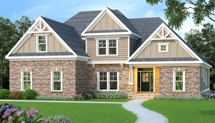 4 Bed, 3 Bath, 3167 Square Foot House Plan - #009-00032