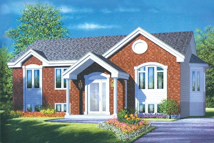 3 Bed, 1 Bath, 1193 Square Foot House Plan - #6146-00171