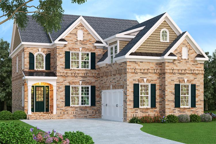 4 Bed, 4 Bath, 3249 Square Foot House Plan - #009-00030