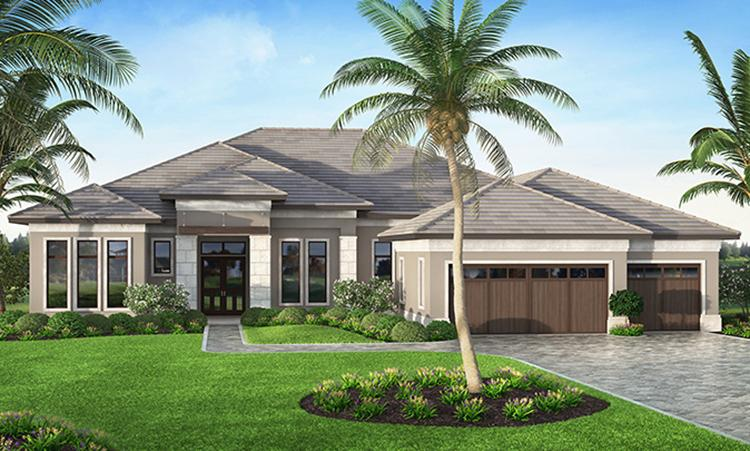 4 Bed, 4 Bath, 4124 Square Foot House Plan - #207-00025