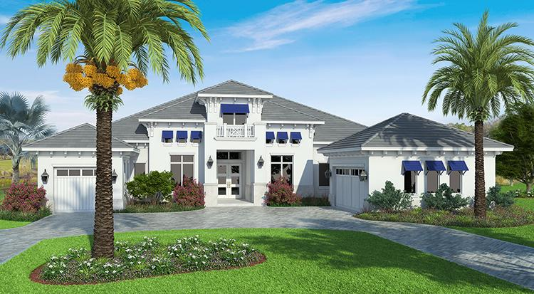 4 Bed, 4 Bath, 4018 Square Foot House Plan - #207-00033