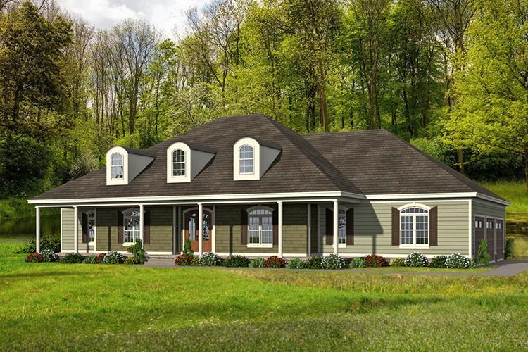 4 Bed, 4 Bath, 3491 Square Foot House Plan - #940-00010