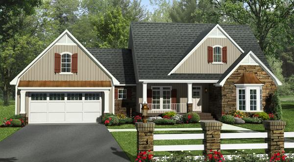4 Bed, 2 Bath, 2212 Square Foot House Plan - #348-00275