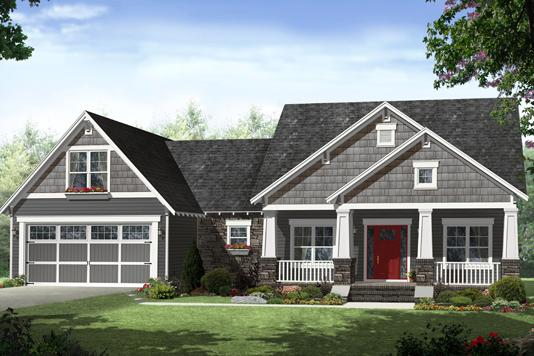 4 Bed, 2 Bath, 2284 Square Foot House Plan - #348-00277