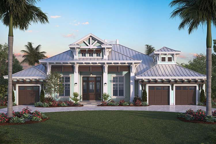 4 Bed, 4 Bath, 4027 Square Foot House Plan - #1018-00259
