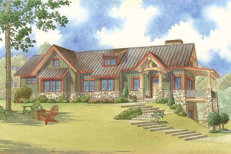 Mountain Rustic Plan 1921 Square Feet 2 Bedrooms 3 Bathrooms