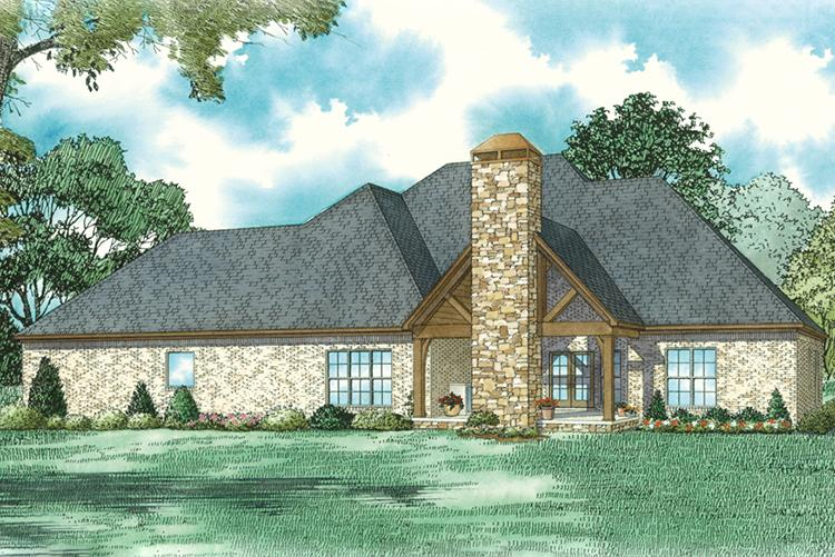 Traditional House Plan #110-01046 Elevation Photo