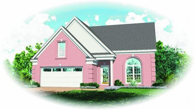 3 Bed, 2 Bath, 1582 Square Foot House Plan - #053-00052
