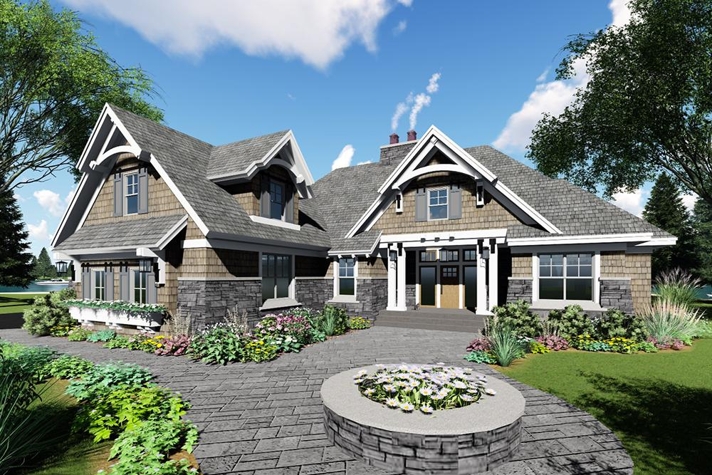 4 Bed, 3 Bath, 2370 Square Foot House Plan - #098-00274