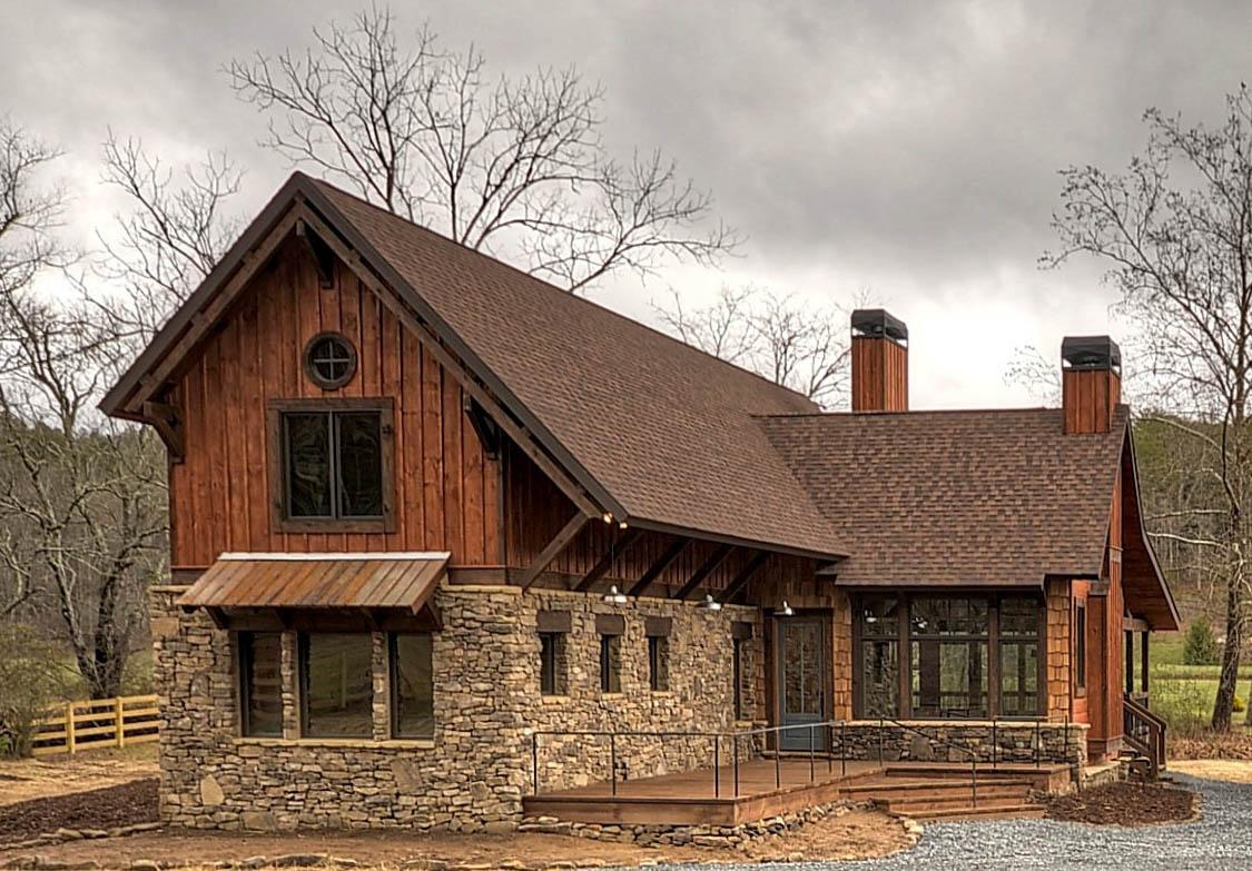 Mountain rustic plan 1 626 square feet 3 bedrooms 2 5 for Rustic mountain house plans