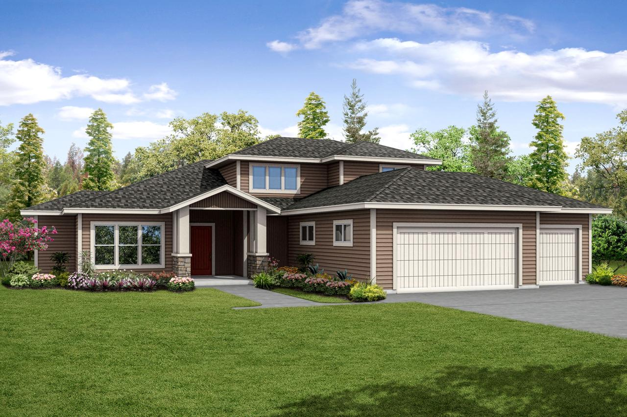 4 Bed, 3 Bath, 3491 Square Foot House Plan - #035-00776