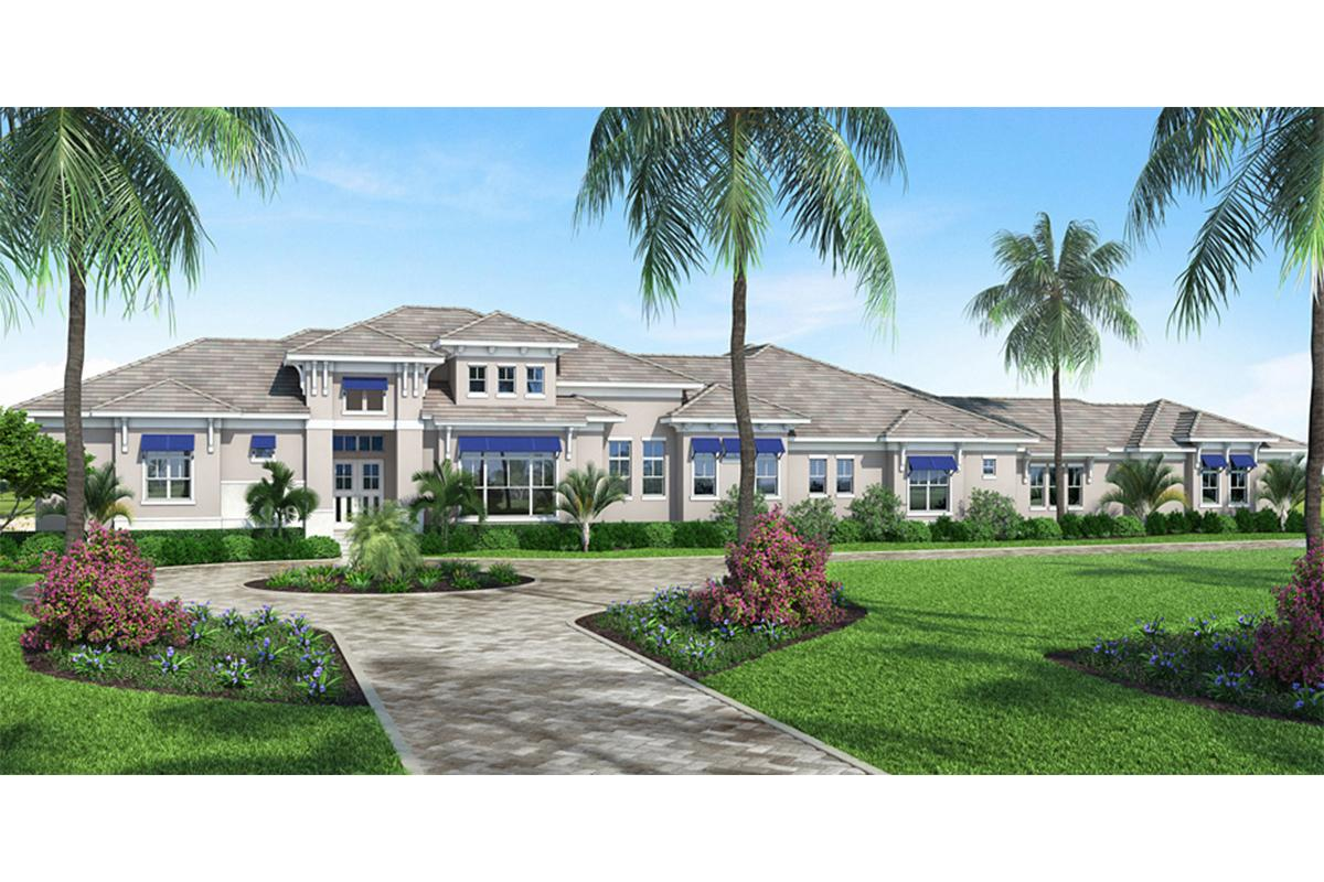4 Bed, 5 Bath, 4285 Square Foot House Plan - #207-00056