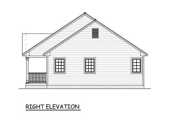 Ranch House Plan #526-00080 Elevation Photo