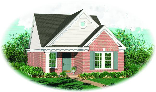 2 Bed, 2 Bath, 1193 Square Foot House Plan - #053-00156